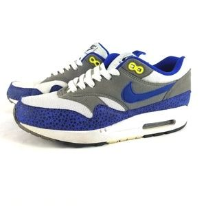 Nike Air Max 1 Safari Hyper Blue Running Shoes
